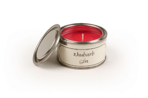 EX DISPLAY PAINT POT RHUBARB GIN CANDLE